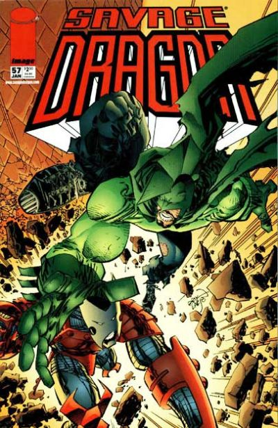 Cover for Savage Dragon (Image, 1993 series) #57