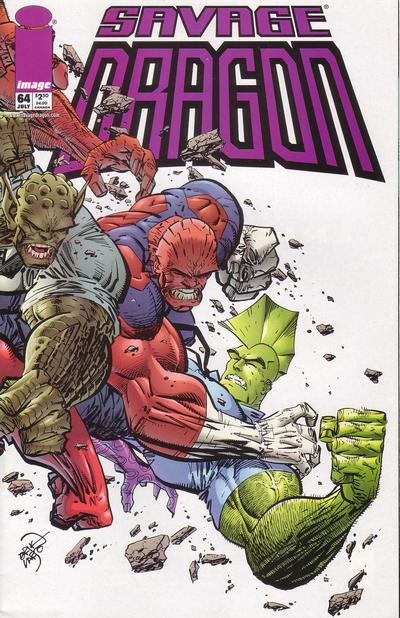 Cover for Savage Dragon (Image, 1993 series) #64
