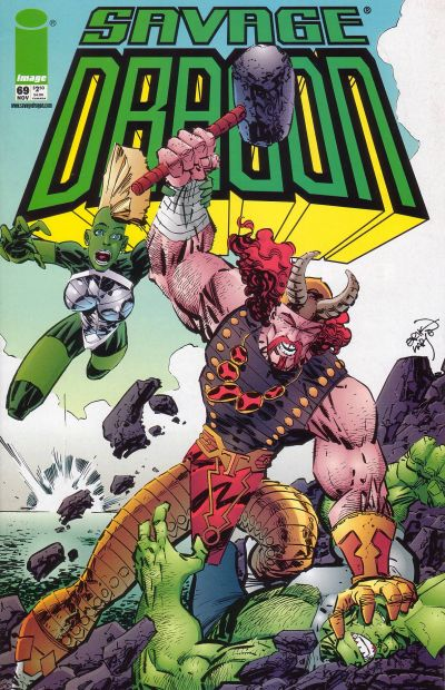 Cover for Savage Dragon (Image, 1993 series) #69