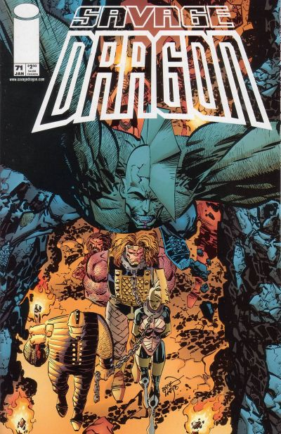 Cover for Savage Dragon (Image, 1993 series) #71