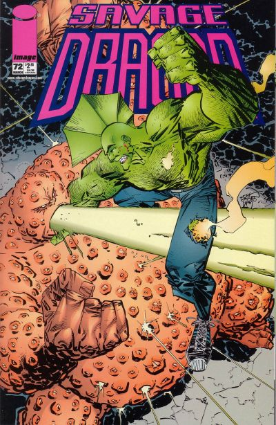 Cover for Savage Dragon (Image, 1993 series) #72