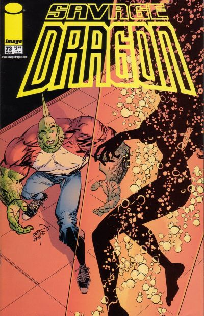 Cover for Savage Dragon (Image, 1993 series) #73