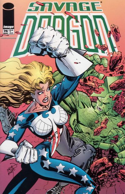 Cover for Savage Dragon (Image, 1993 series) #74