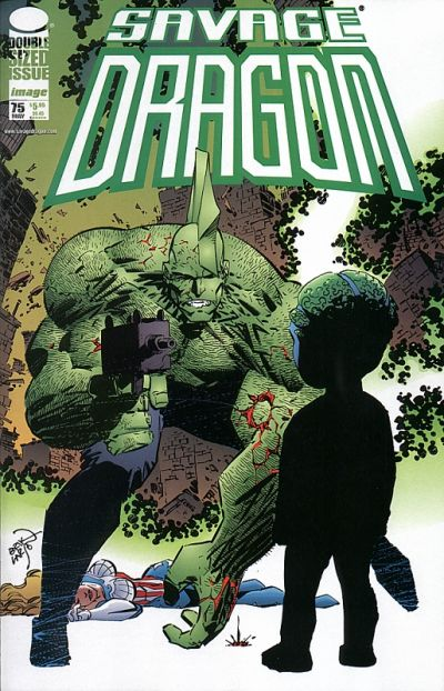 Cover for Savage Dragon (Image, 1993 series) #75