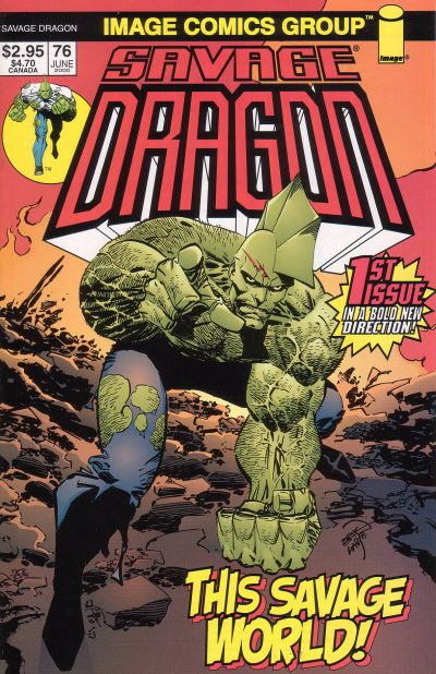 Cover for Savage Dragon (Image, 1993 series) #76
