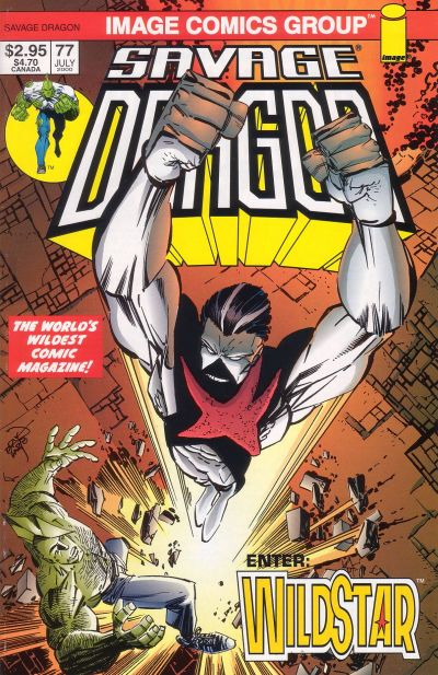 Cover for Savage Dragon (Image, 1993 series) #77 [Ordway Cover]