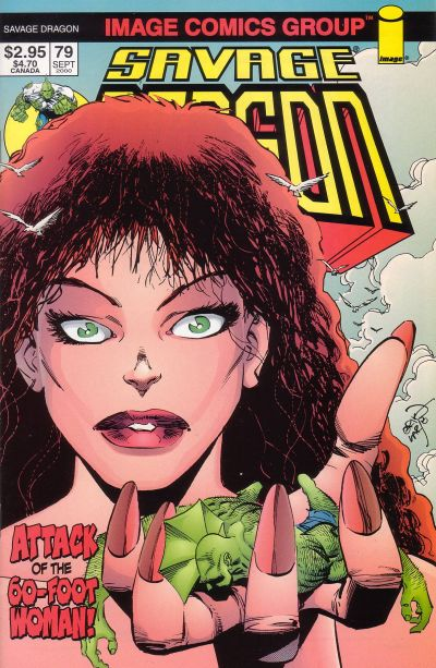 Cover for Savage Dragon (Image, 1993 series) #79