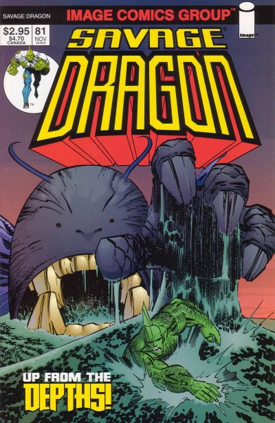 Cover for Savage Dragon (Image, 1993 series) #81