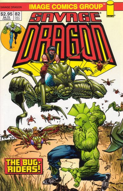 Cover for Savage Dragon (Image, 1993 series) #82