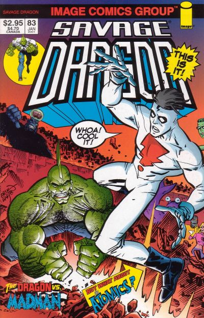 Cover for Savage Dragon (Image, 1993 series) #83