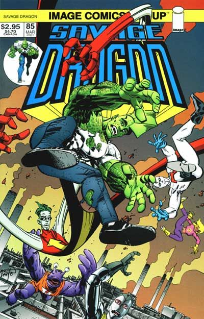 Cover for Savage Dragon (Image, 1993 series) #85