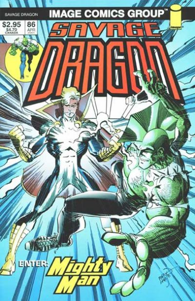 Cover for Savage Dragon (Image, 1993 series) #86