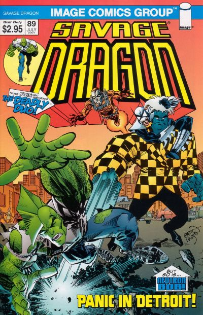Cover for Savage Dragon (Image, 1993 series) #89