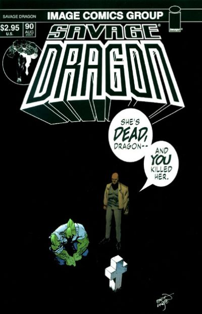 Cover for Savage Dragon (Image, 1993 series) #90