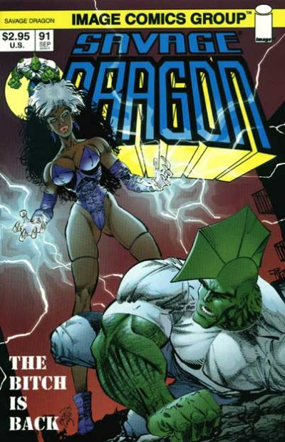 Cover for Savage Dragon (Image, 1993 series) #91