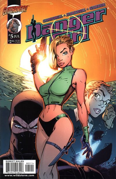 Cover for Danger Girl (DC, 1999 series) #5 [Dynamic Forces Variant]