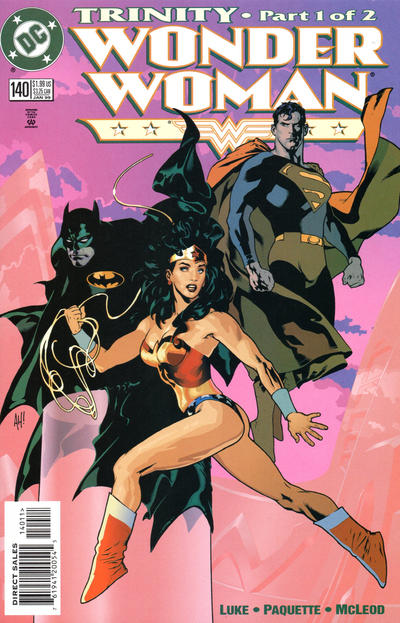 Cover for Wonder Woman (DC, 1987 series) #140