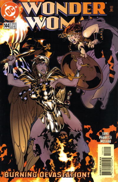 Cover for Wonder Woman (DC, 1987 series) #144