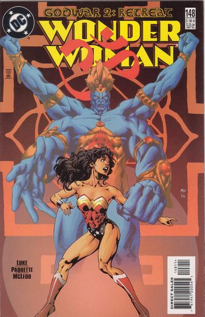 Cover for Wonder Woman (DC, 1987 series) #148