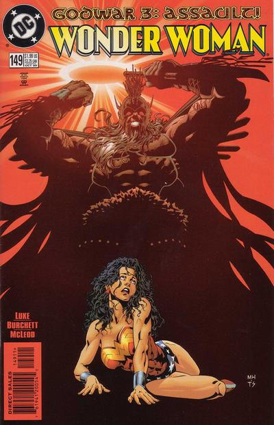 Cover for Wonder Woman (DC, 1987 series) #149