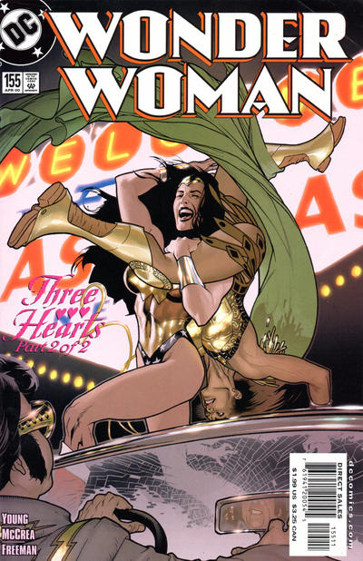 Cover for Wonder Woman (DC, 1987 series) #155