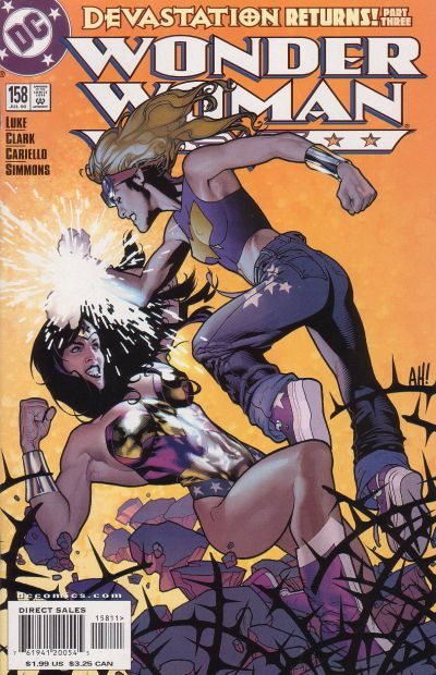 Cover for Wonder Woman (DC, 1987 series) #158