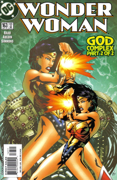 Cover for Wonder Woman (DC, 1987 series) #163