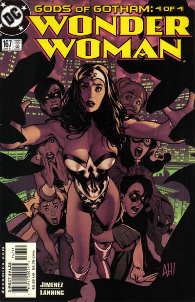 Cover for Wonder Woman (DC, 1987 series) #167
