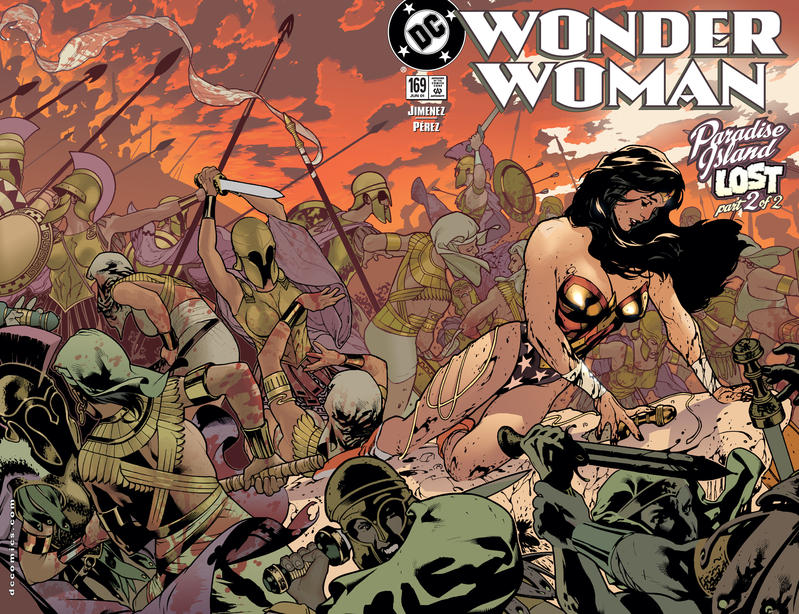 Cover for Wonder Woman (DC, 1987 series) #169