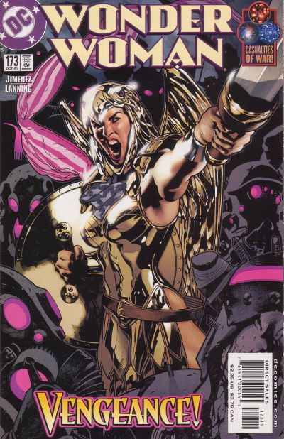 Cover for Wonder Woman (DC, 1987 series) #173