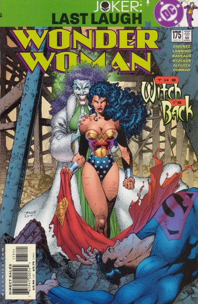 Cover for Wonder Woman (DC, 1987 series) #175
