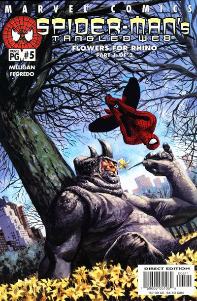 Cover for Spider-Man's Tangled Web (Marvel, 2001 series) #5 [Direct Edition]