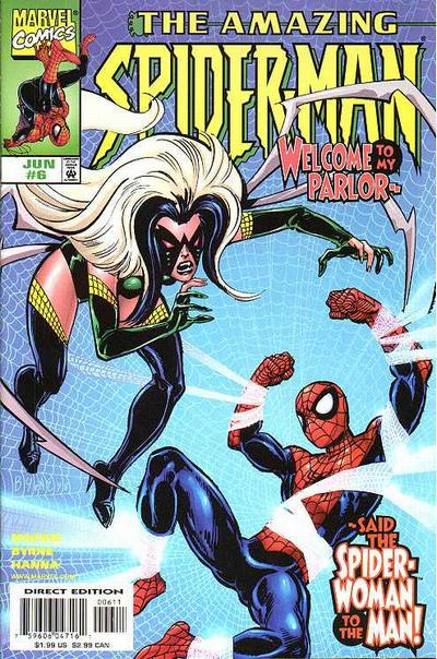 Cover for The Amazing Spider-Man (Marvel, 1999 series) #6 [Direct Edition]