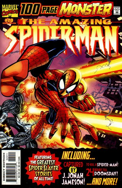 Cover for The Amazing Spider-Man (Marvel, 1999 series) #20