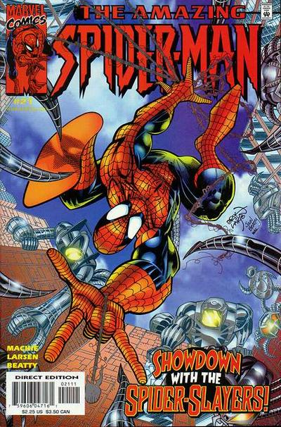 Cover for The Amazing Spider-Man (Marvel, 1999 series) #21