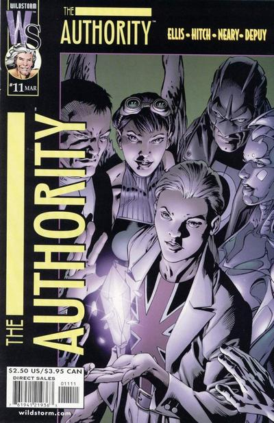 Cover for The Authority (DC, 1999 series) #11