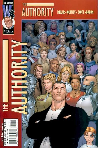 Cover for The Authority (DC, 1999 series) #13