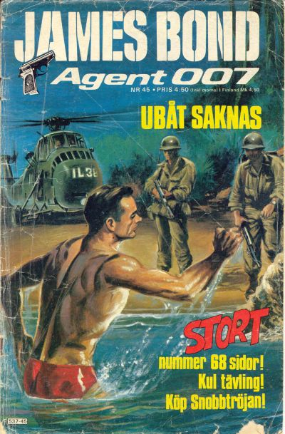 Cover for James Bond (Semic, 1965 series) #45/[1977]