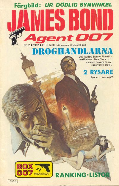 Cover for James Bond (Semic, 1965 series) #2/1982