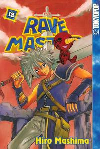Cover Thumbnail for Rave Master (Tokyopop, 2004 series) #18