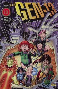 Cover Thumbnail for Gen 13 (Image, 1995 series) #1 [Li'l GEN13 Cover 1-C]