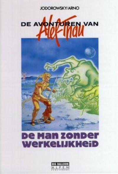 Cover for De avonturen van Alef-Thau (Big Balloon, 1990 series) #6 - De man zonder werkelijkheid