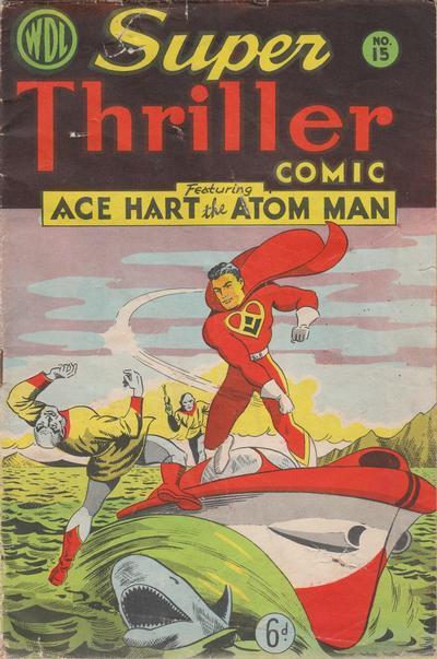 Cover for Super Thriller Comic (World Distributors, 1947 series) #15