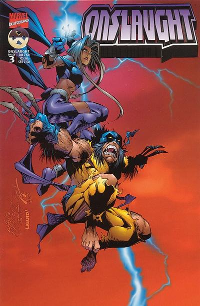 Cover for Wolverine (Panini Deutschland, 1997 series) #16