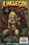 Cover for Jungle Girl Season 2 (Dynamite Entertainment, 2008 series) #5 [Adriano Batista Cover]