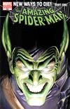 Cover for The Amazing Spider-Man (Marvel, 1999 series) #568 [Alex Ross Variant Cover]