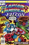 Cover for Captain America (Marvel, 1968 series) #212 [35 cent cover price variant (without a brand)]