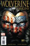 Cover for Wolverine: Origins (Marvel, 2006 series) #2 [Quesada Cover [American Flag]]