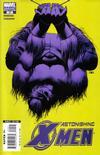 Cover for Astonishing X-Men (Marvel, 2004 series) #20 [Beast Cover]