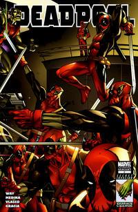 Cover Thumbnail for Deadpool (Marvel, 2008 series) #2 [2nd Print Variant]